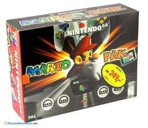 Konsole #Mario Pak 3 + Spiel + Original Controller + Zubehör