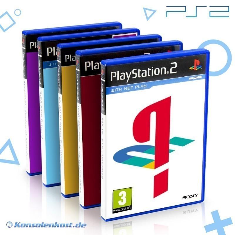 PS2 - Wundertüte: 5 Original PS2 Spiele
