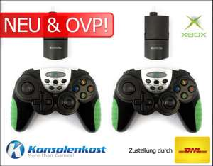2 x Wireless Powershock Controller [Competition Pro]