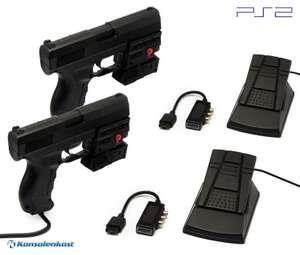 Light Gun / Pistole / Phaser Laser Blaster P099L Doppelpack + Zubehör [Logic3]