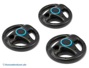 Controller Aufsatz: Lenkrad / Racing Wheel Dreierpack #schwarz