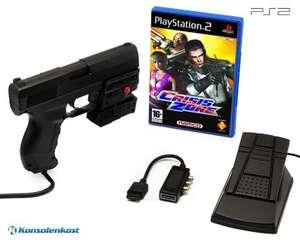 Crisis Zone + Laser Blaster Lightgun + Laserpointer