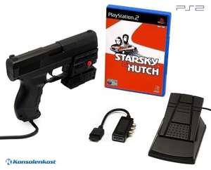Starsky & Hutch + Laser Blaster Lightgun + Laserpointer