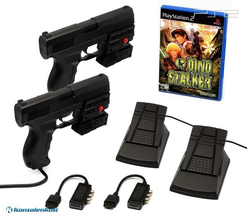 Dino Stalker + 2 x Laser Blaster Lightgun + Laserpointer