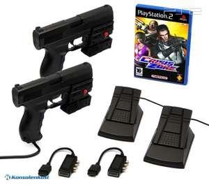 Crisis Zone + 2 x Laser Blaster Lightgun + Laserpointer
