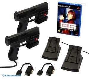 Endgame + 2 x Laser Blaster Lightgun + Laserpointer