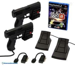 Guncom + 2 x Laser Blaster Lightgun + Laserpointer