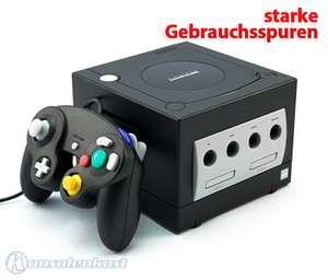 Konsole #schwarz + 1 Controller + Zubehör