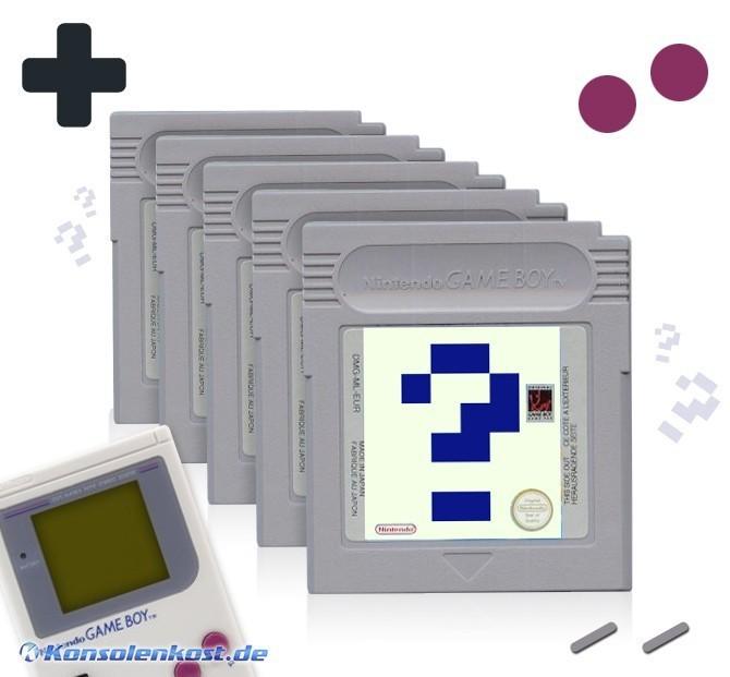 GameBoy - Wundertüte: 5 Original GameBoy Spiele