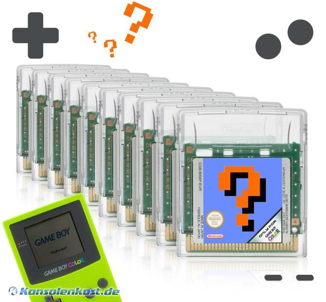 GameBoy Color - Wundertüte: 10 Original GameBoy Color Spiele