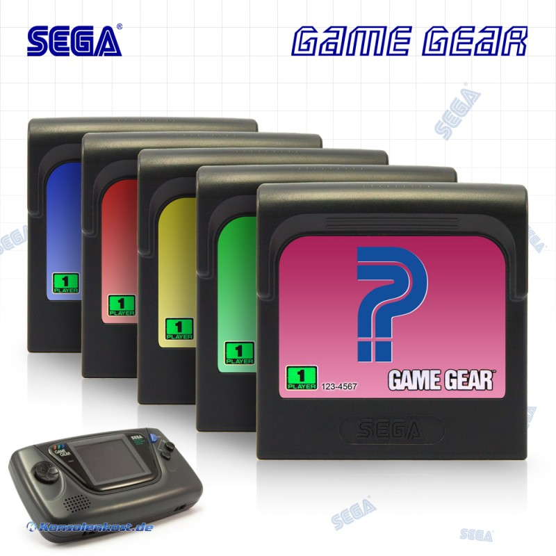 Game Gear - Wundertüte: 5 Original Game Gear Spiele