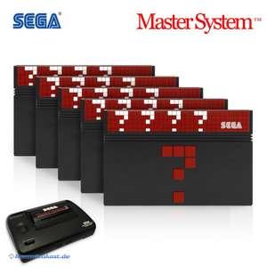 Wundertüte: 5 Original Master System Spiele