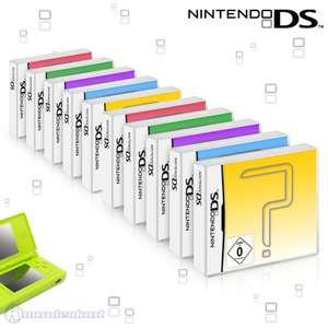 Wundertüte: 10 Original Nintendo DS Spiele
