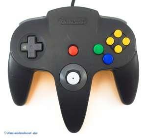 Original Nintendo Controller #schwarz-gelb NUS-005