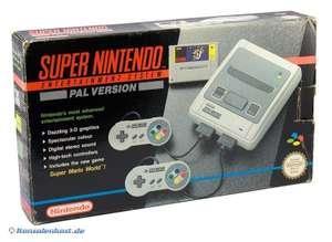 Konsole + Mario World + 2 Original Controller + Zubehör