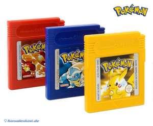 Pokemon Bundle: Rot + Blau + Gelb