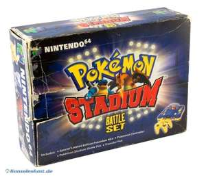 Konsole #Pokemon Stadium Battle Set + Spiel + Original Controller