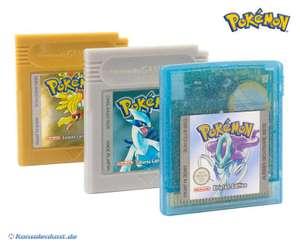 Pokemon Bundle: Kristall + Silber + Gold