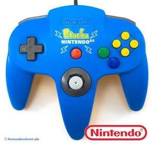Original Nintendo Controller #Light Blue Pikachu Edition NUS-005