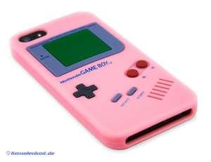 iPhone 5 Silikon Schutzhülle: GameBoy #pink