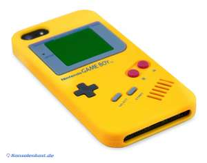iPhone 5 Silikon Schutzhülle: GameBoy #gelb