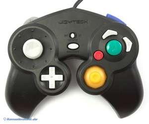 Controller / Pad #schwarz mit Vibration [Joytech]