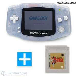 Konsole #transparent blau / clear blue + ZELDA Spiel