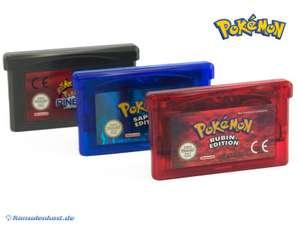 Pokemon Bundle: Rubin Edition + Saphir Edition + Pinball Rubin & Saphir