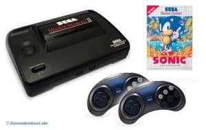 Konsole MS 2 + Sonic 1 + 2 Controller + Zubehör