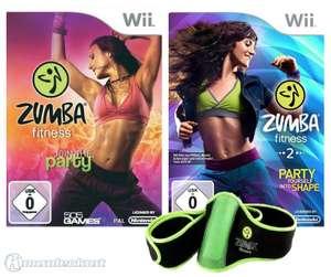 Zumba Fitness 1 + 2 + Fitness-Gürtel