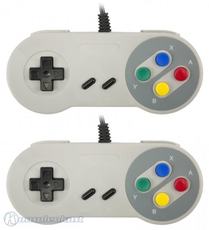 Controller Doppelpack für Super Nintendo