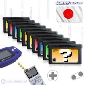 Wundertüte: 10 Original GameBoy Advance Spiele