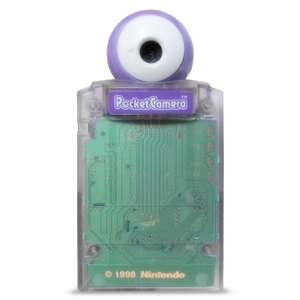 Pocket Kamera / Camera #Clear Purple