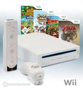 MegaSet: Konsole + Zelda + Donkey Kong + Harvest Moon + Animal Crossing + Remote #weiß