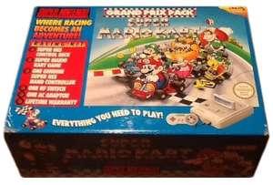 Konsole #Grand Prix Pack + Mario Kart + Original Controller + Zubehör SELTEN!