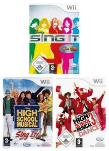 Disney Sing It + High School Musical: Sing It + Sing It: High School Musical 3