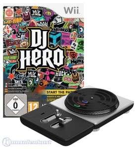 DJ Hero 1 + Turntable Controller