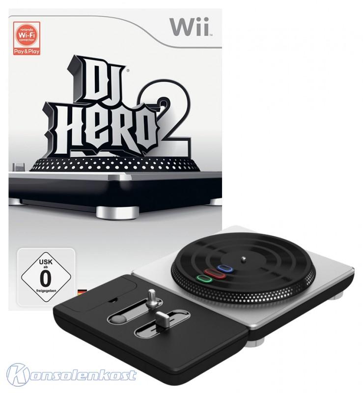 DJ Hero 2 + DJ Hero Turntable Controller