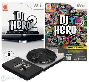 DJ Hero Bundle: Teil 1 + 2 + Turntable Controller