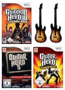 Guitar Hero Bundle: Guitar Hero 3 & 5, World Tour & 2 Guitars