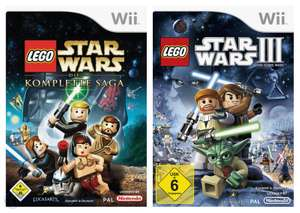 LEGO Star Wars Bundle: Star Wars The Complete Saga + Star Wars III The Clone Wars