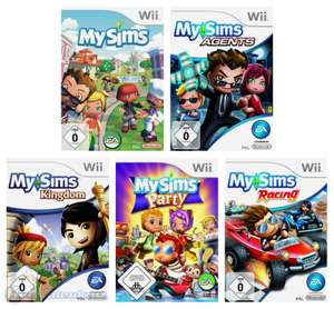 My Sims Bundle: My Sims + My Sims Agents + My Sims Kingdom + My Sims Party + My Sims Racing