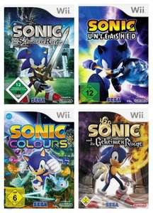 Sonic Bundle: Der Schwarze Ritter + Unleashed + Colours + Die Geheimen Ringe