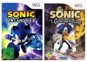 Sonic Bundle: Sonic Unleashed + Sonic und die Geheimen Ringe