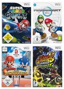 Mario Bundle: Mario Galaxy + Kart + Mario & Sonic Beijing 2008 + Mario Football