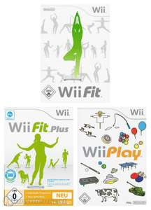 Wii Games Bundle: Wii Fit + Wii Fit Plus + Wii Play