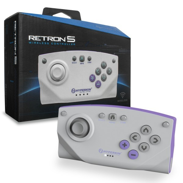Original Wireless RetroN 5 Controller #grau
