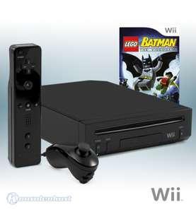 Konsole #schwarz + LEGO Batman 1 + Remote + Zubehör
