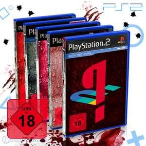 Wundertüte: 5 Original PS2 Spiele
