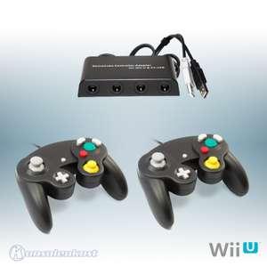 GameCube Adapter + 2 GameCube Controller